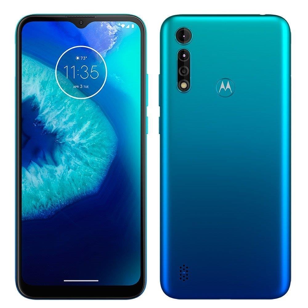 """Smartphone Motorola G8 Power Lite Aqua, Dual Chip, Tela 6.5"""", Câm Traseira..."""