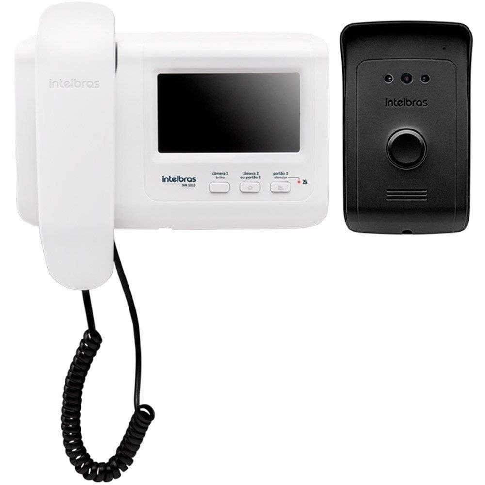 """Vídeo Porteiro Intelbras IVR 1010 Monitor 4.3"""" Branco"""