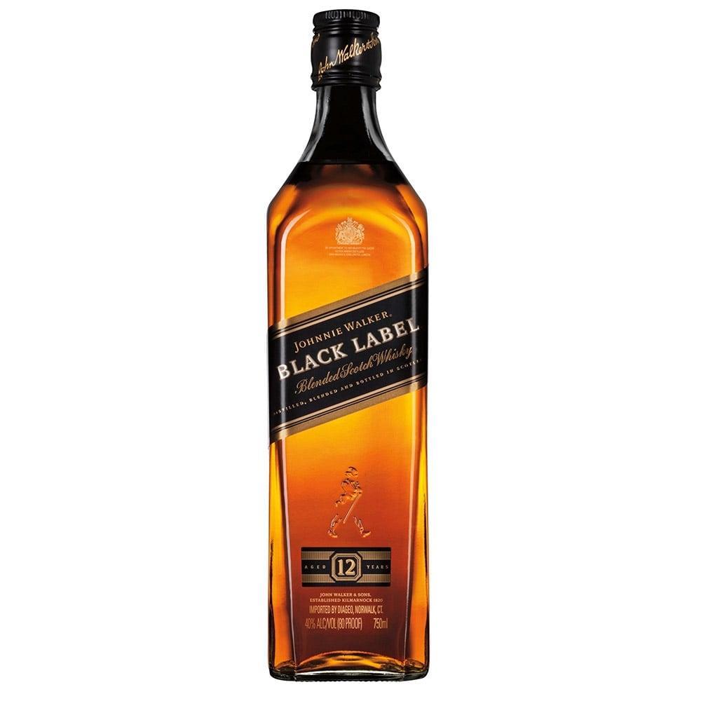Whisky Escocês Black Label 12 Anos Garrafa 750ml - Johnnie Walker