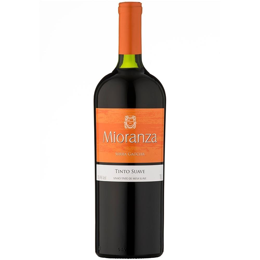 Vinho Mioranza Tinto Suave 1 Litro
