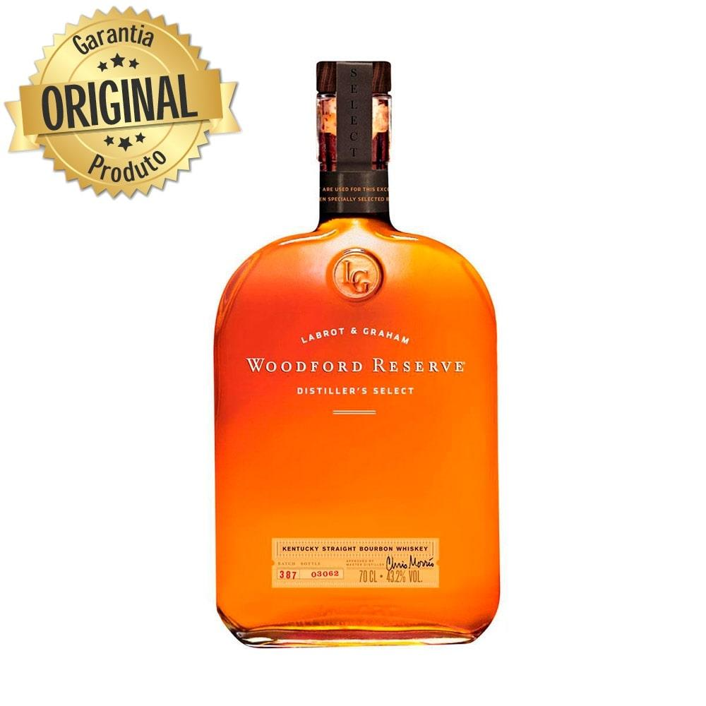 Whisky Importado Bourbon Garrafa 750ml - Woodford Reserve