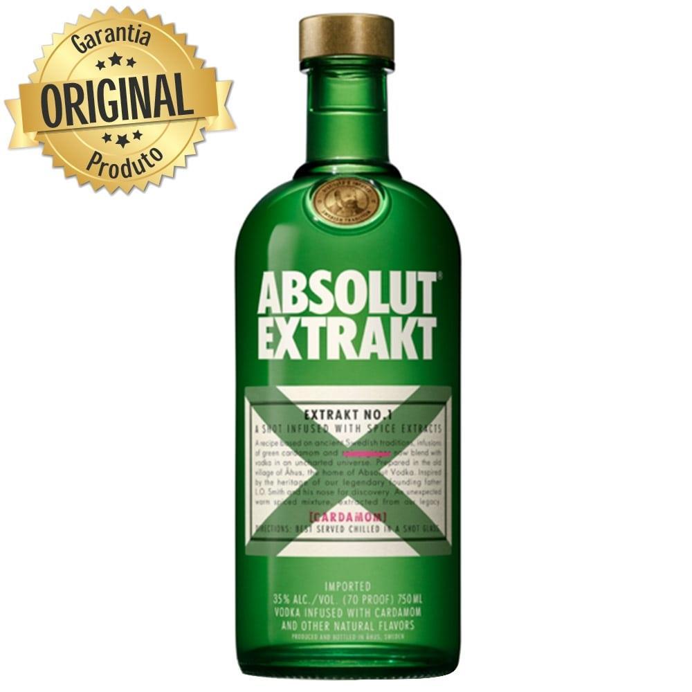 Vodka Absolut Extrakt 750 ml