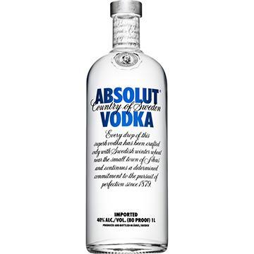 Vodka Absolut 1 Litro