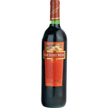 Vinho Country Wine Meio Suave Tinto 750 ml
