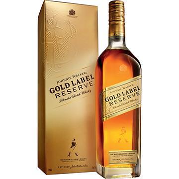 Whisky Escocês Gold Label Reserve Garrafa 750ml - Johnnie Walker